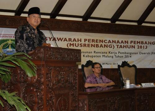 Musrenbang Kabupaten Malang Tahun 2013