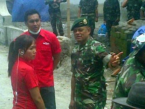 Pangkostrad TNI Letjen Letjen Gatot Nurmantyo